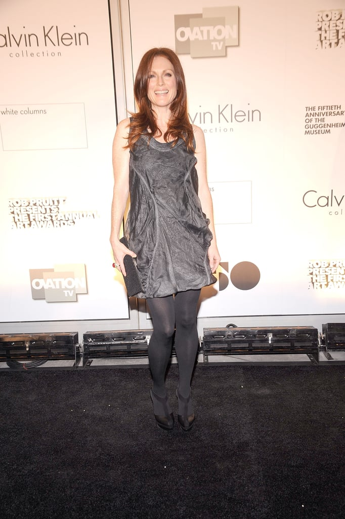 Photos of Kylie Minogue and Julianne Moore at Art Awards in NYC