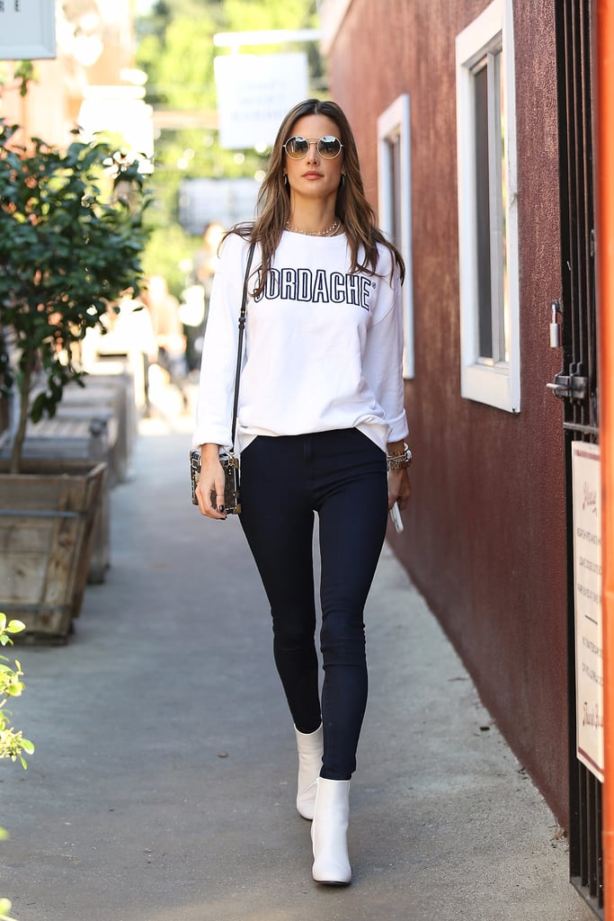 This Is Why Alessandra Ambrosio's Street Style Is Always So Damn Good