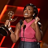 Uzo Aduba at the 2015 Emmy Awards
