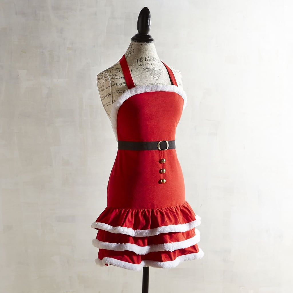 Mrs. Claus Christmas Apron ($25)