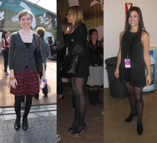 LA Fashion Week Trend Alert: Black Tights