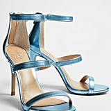 Our Pick: Express Metallic Heeled Sandals