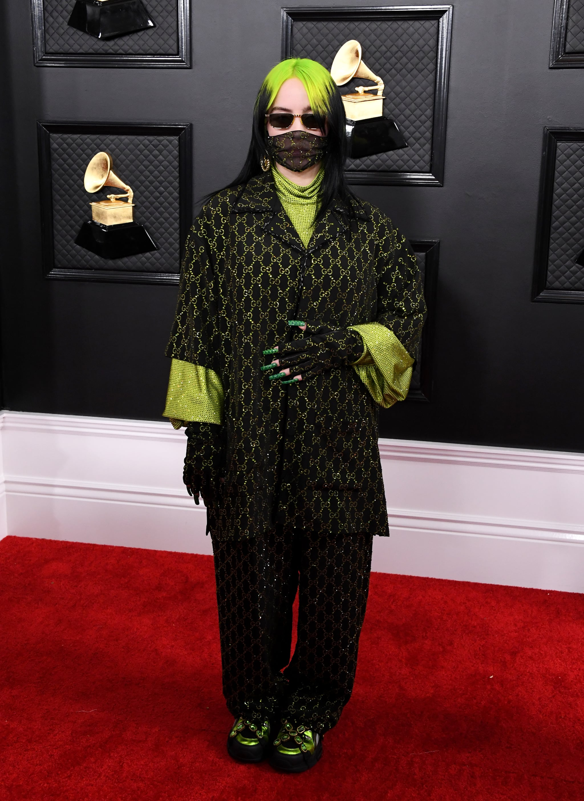 Beard Halloween Costume 2020 Billie Eilish at the 2020 Grammys | We Have Chills! These Are