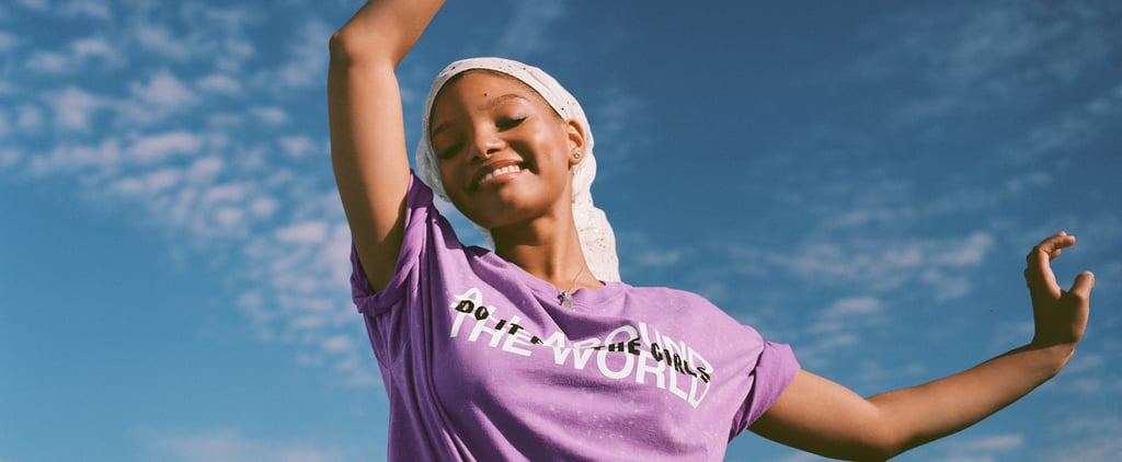 Chloe x Halle Partner With VS Pink on a Line of T-Shirts