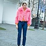 Veronika Heilbrunner at Paris Haute Couture Week Spring 2017.