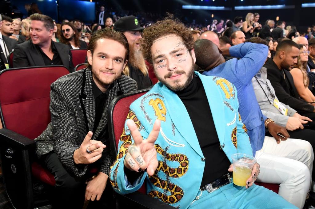 Pictured: Zedd and Post Malone