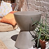 Alper Hourglass Outdoor Stool