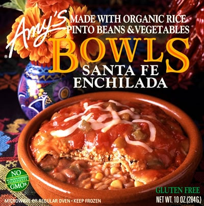 Food Review: Amy's Santa Fe Enchilada