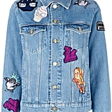 Kenzo Badges Denim Jacket