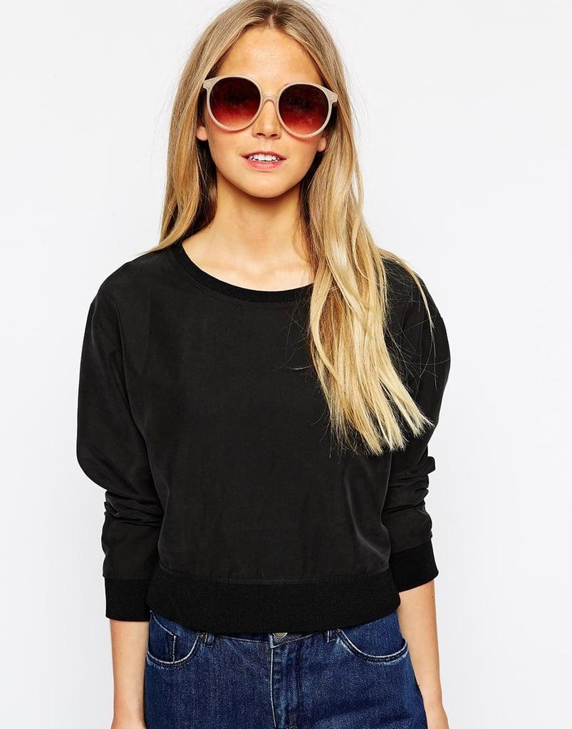 Pieces Jeanne Round Sunglasses