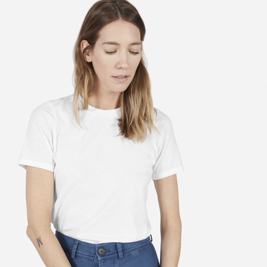 b639916e36 Everlane | Best White T-Shirts | POPSUGAR Fashion Australia Photo 3