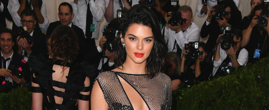 If You Think The Front of Kendall Jenner's Met Gala Dress Is Revealing, Just Wait Till She Turns Around
