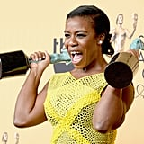 Uzo Aduba was ecstatic after winning big at the show in 2015.