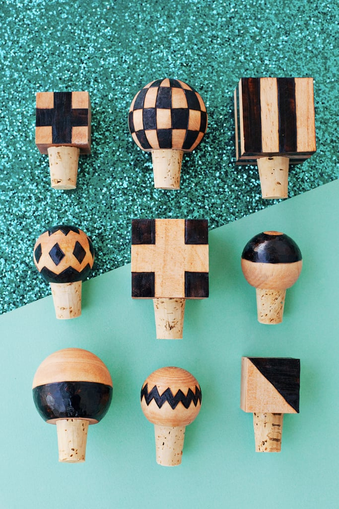 DIY Wooden Bottle Stoppers