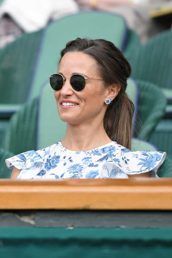 Pippa Middleton Is Darling in a Floral Dress For Her First Public Outing With Meghan and Kate