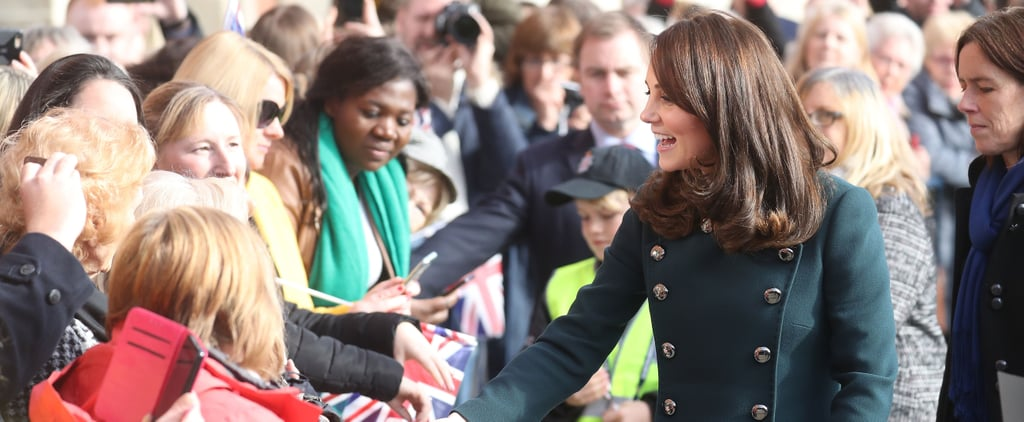 Kate Middleton's Green Dolce & Gabbana Coat