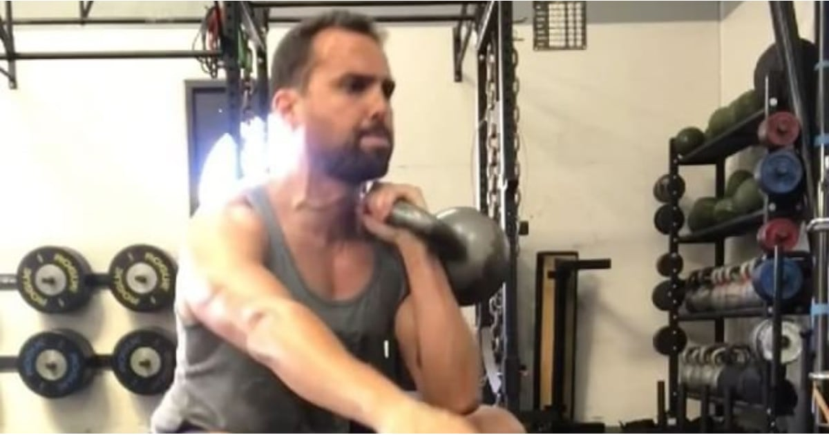 If You Want Strong, Toned Legs, Do This Trainer's Intermediate Kettlebell Workout
