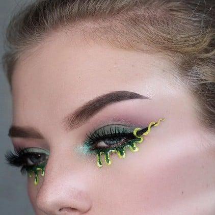 Slime Eyeliner Ideas