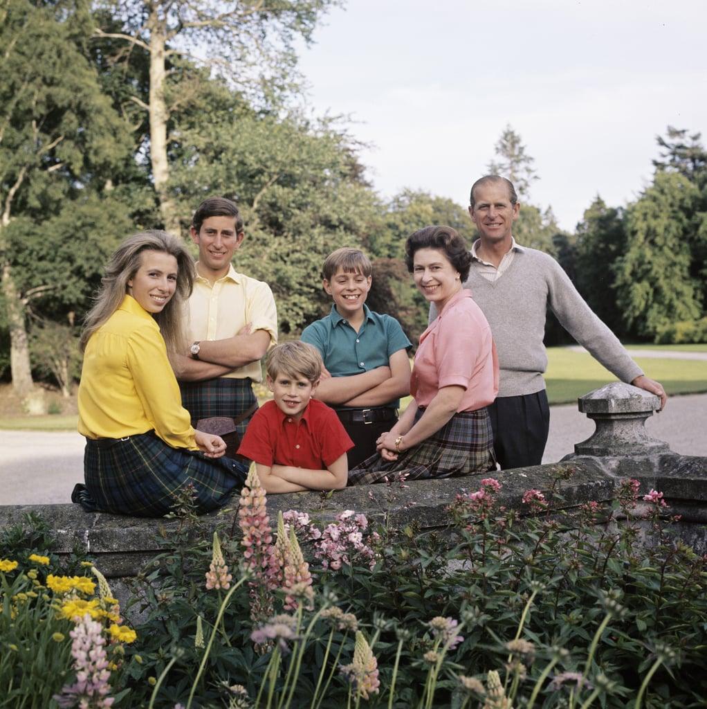 The royal family circa 1972