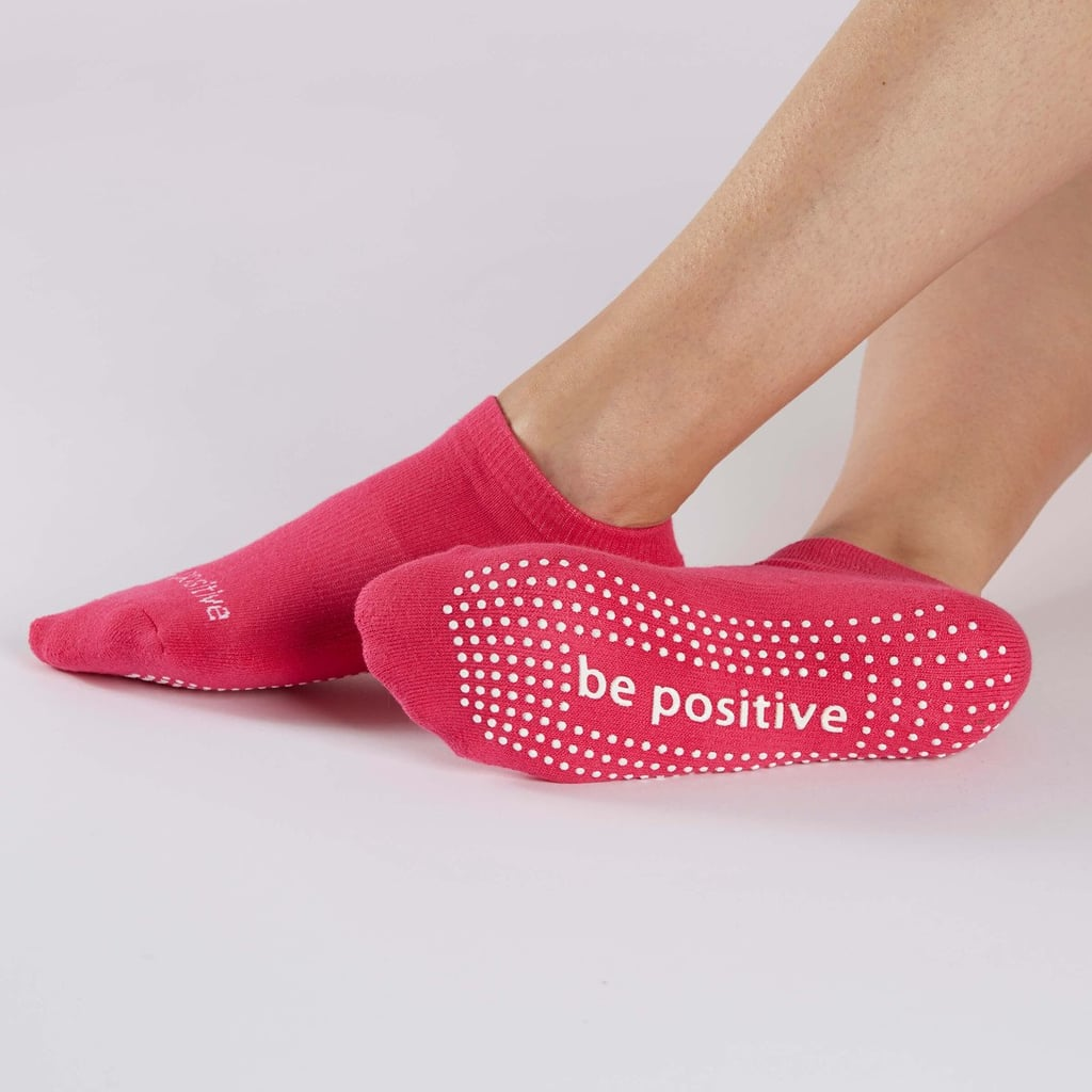 """Sticky Be """"Be Positive"""" Socks"""