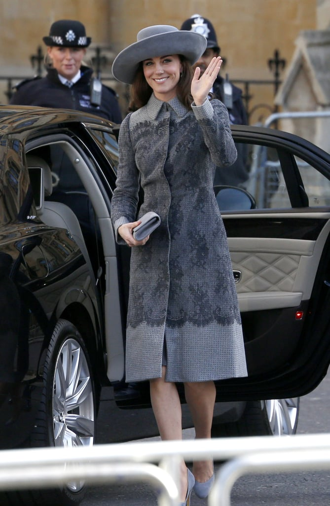 Kate Middleton at the Commonwealth Observance Day Service in 2016