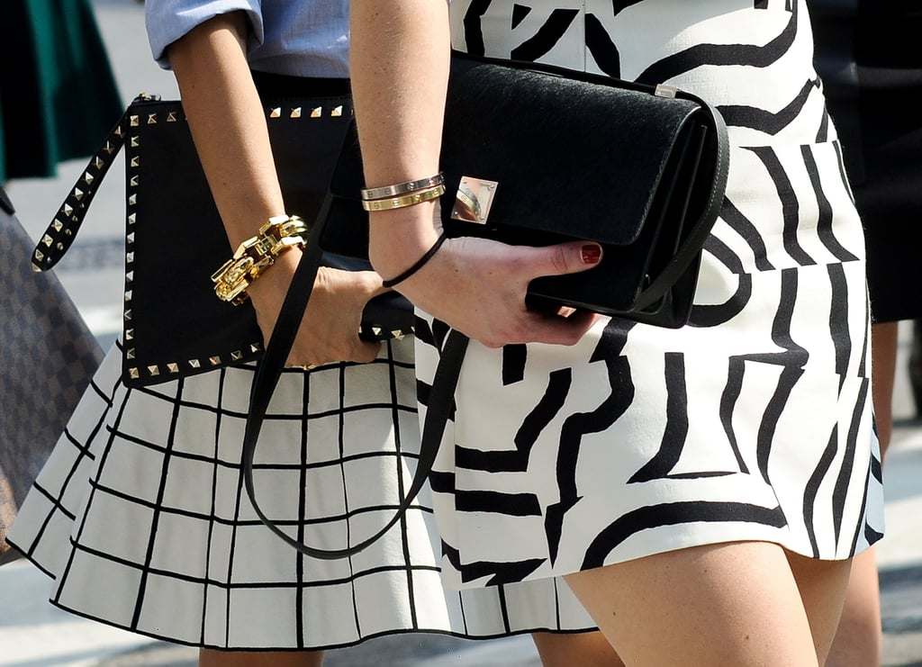 Coordinated style.