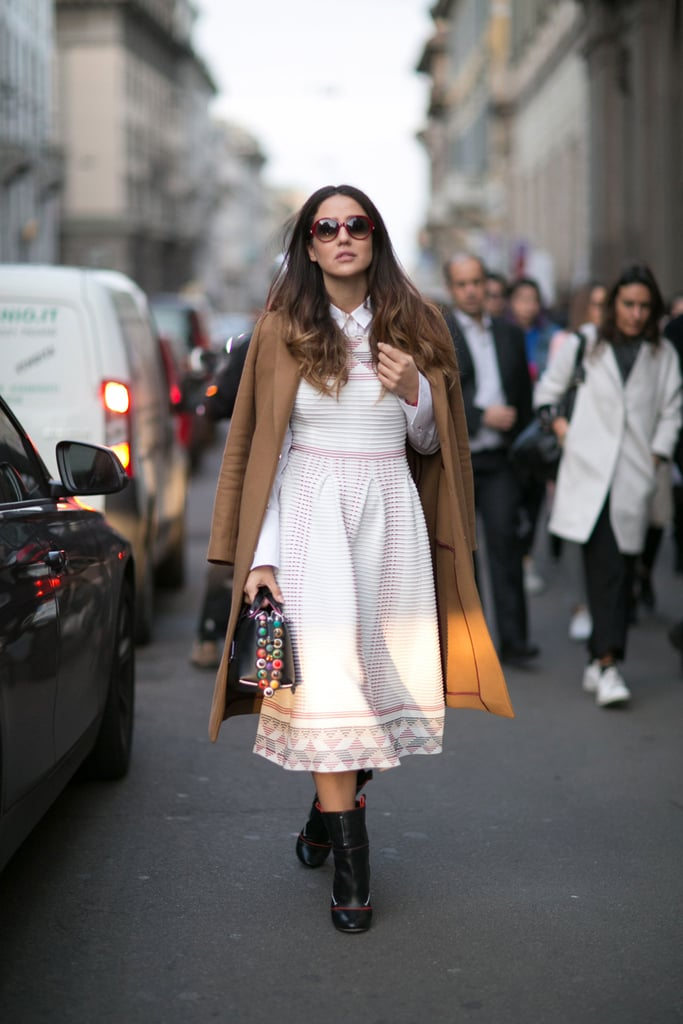 Day 1 Milan Fashion Week Street Style Fall 2016 Popsugar Fashion Photo 262