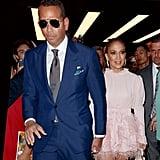 Jennifer Lopez's Pink Feather Dress