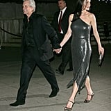 Catherine Zeta-Jones and Michael Douglas left the Vanity Fair Party at the 2012 Tribeca Film Festival.