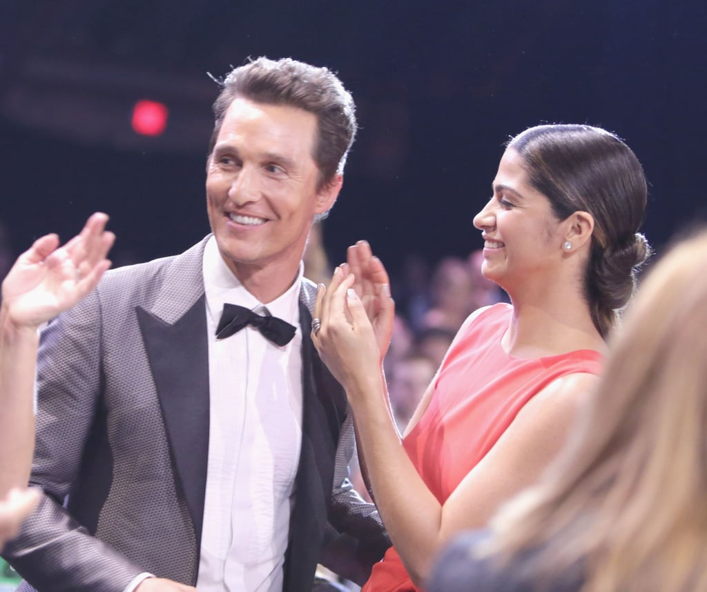 Matthew McConaughey at the Critics' Choice Awards 2014