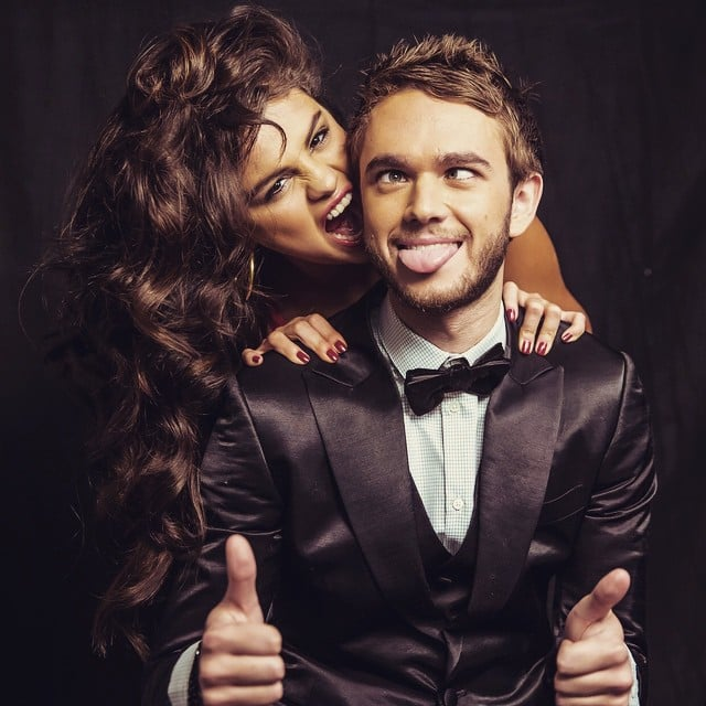 The pair showed off their silly side in a stunning portrait Zedd shared.