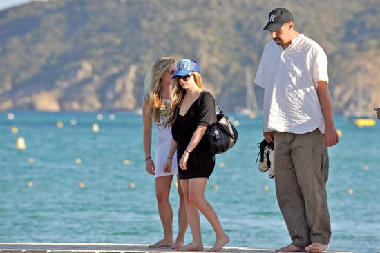 Avril Lavigne in St Tropez
