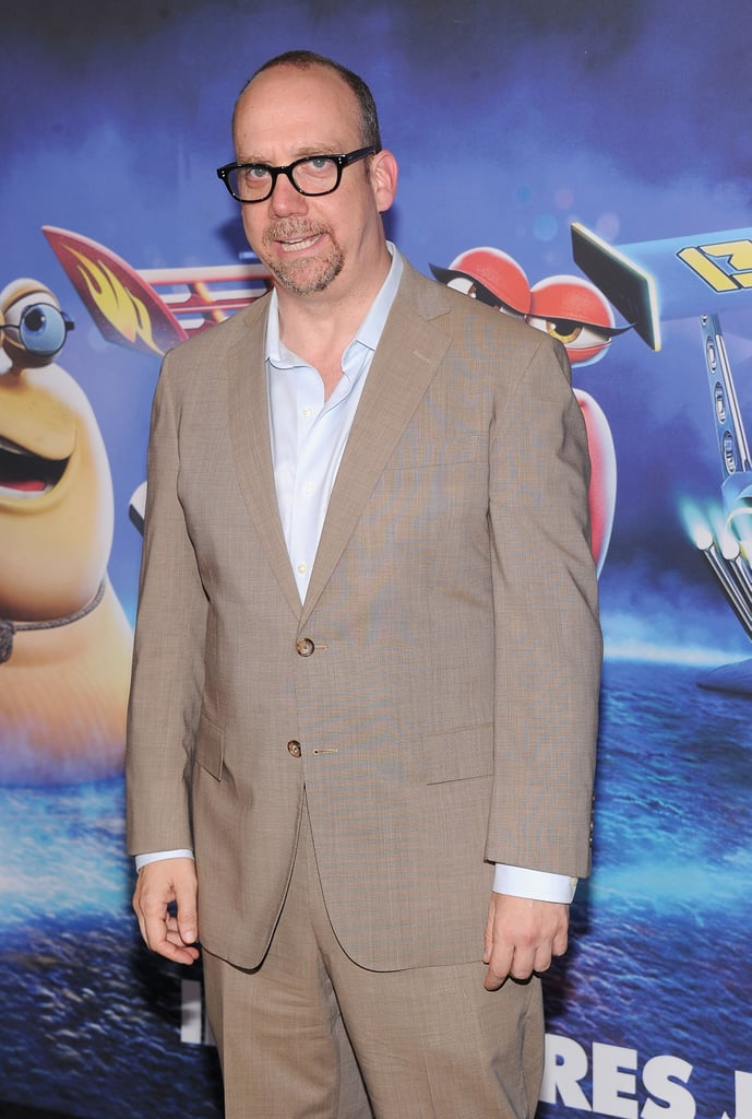 Paul Giamatti attended the premiere of Turbo on Tuesday in NYC.