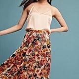 Maeve Floral Velvet Skirt