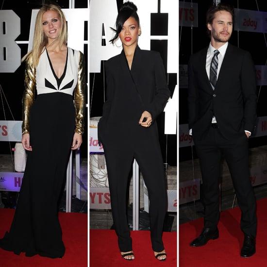 Brooklyn and Rihanna Premiere Battleship Down Under