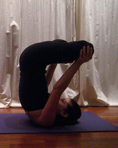 Strike a Yoga Pose:  Balancing Lotus