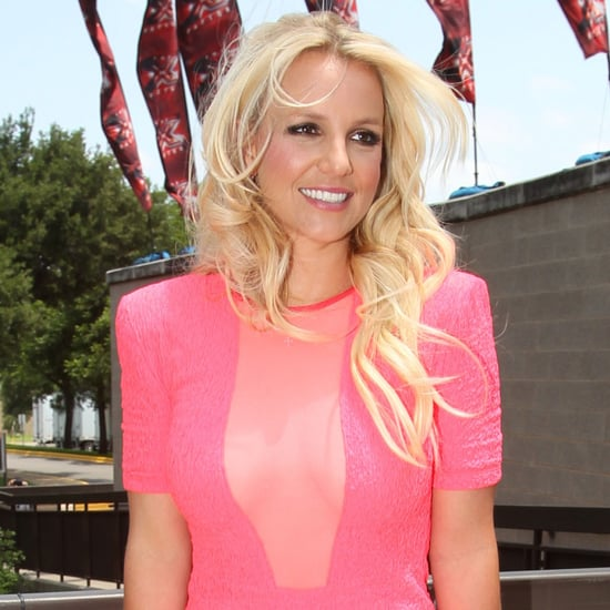 Britney Spears at X Factor Auditions Pictures