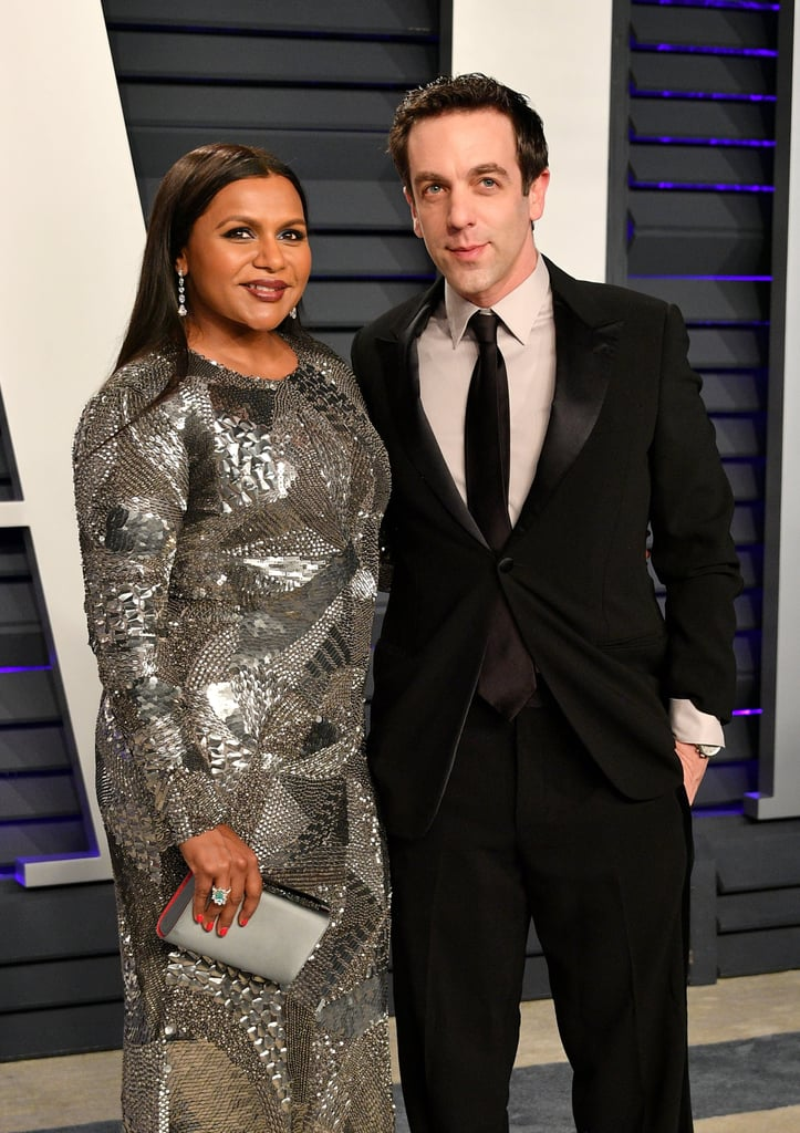 "ICYMI, certified BFFs Mindy Kaling and B.J. Novak made a glamorous appearance at the Vanity Fair Oscars afterparty on Sunday. ""Happy Oscars, everyone,"" Mindy said in an Instagram video. ""I'm in the car, on the way to several parties tonight with my good friend."" Later, she teased B.J. for stealing her food at the party, where they were apparently the only ones on their phones. It's not the first time the Office costars and real-life best friends have linked up to celebrate film's biggest night, and they've shared more than a few sweet moments together over the years. On her Instagram Story, Mindy also offered a glimpse of her sequin silver Alberta Ferretti Limited Edition gown, Gismondi 1754 jewelry, and matching Christian Louboutin heels, joking, ""Little preview of my Cinderella shoes that I'm wearing tonight. Elegant slash slutty, basically I live for that aesthetic."" It's safe to say Kelly Kapoor would be losing it over Mindy's look, and here's hoping she and B.J. have a night that tops the epic Dundees.       Related:                                                                                                           The Story Behind Mindy Kaling and B.J. Novak's Adorable Friendship"