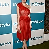 Jaime King posed at InStyle's summer party in LA.