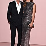 Randy Gerber and Cindy Crawford
