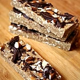 Vegan Chocolate Almond Protein Bars