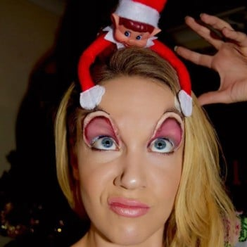 Elf on the Shelf Makeup