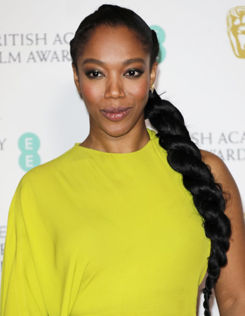Naomi Ackie's Waist-Length Twist at the 2020 BAFTAs