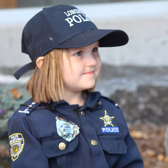 Girl Donates Piggy Bank Money to Police Officer With Cancer