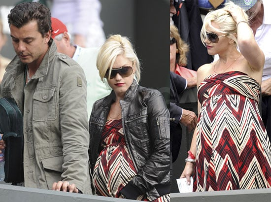 Photos of Gwen Stefani and Gavin Rossdale at Wimbledon