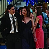 Jason Biggs as Jim and Alyson Hannigan as Michelle in American Reunion.  Photo courtesy of Universal Pictures