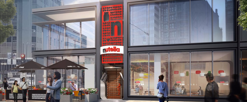 OMG, the Nutella Cafe of Your Dreams Is Coming to the US