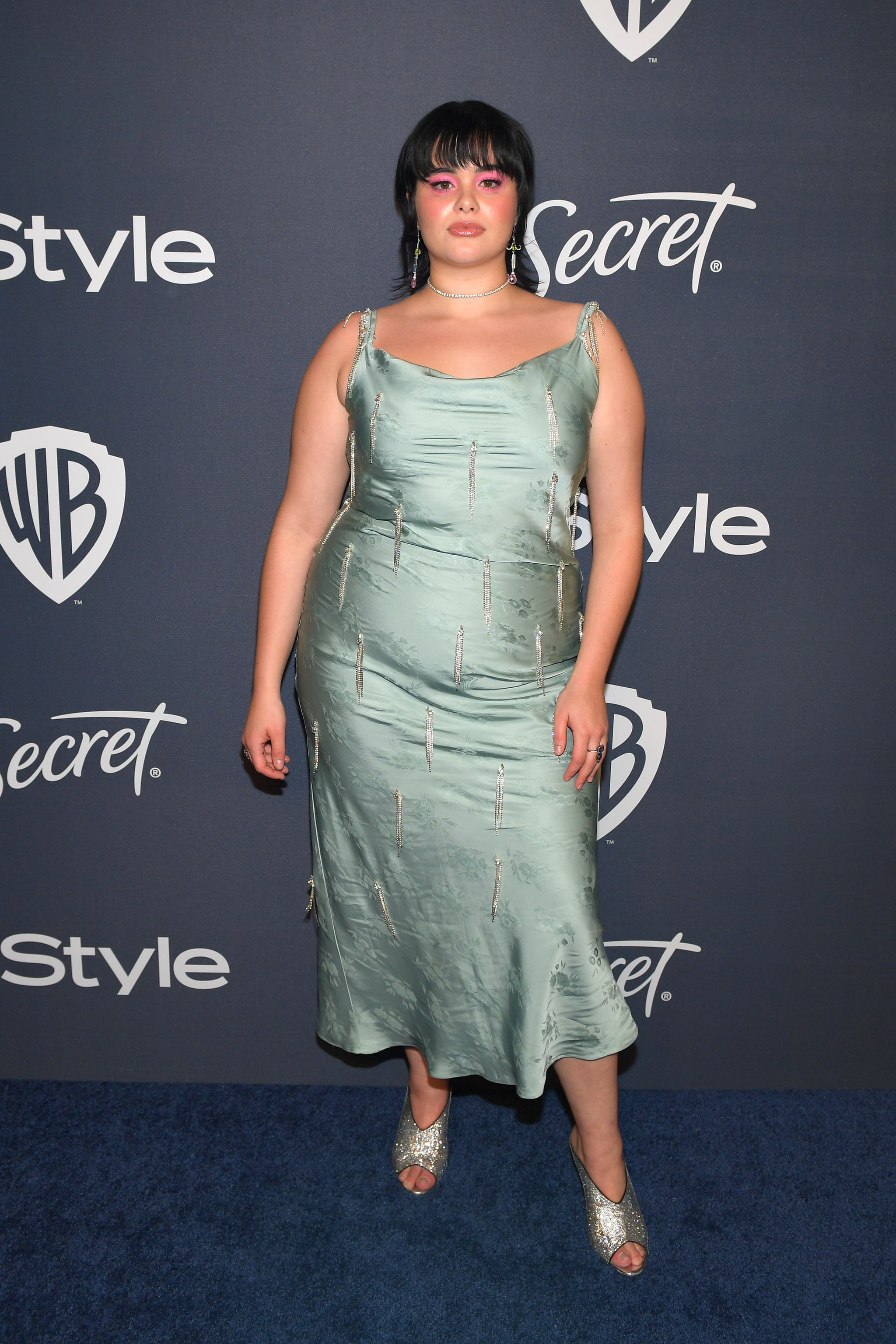 Barbie Ferreira at the 2020 Golden Globes Afterparty   The Best Golden  Globes Looks You Didn't See on the Red Carpet Were All at the Afterparties    POPSUGAR Fashion Photo 2