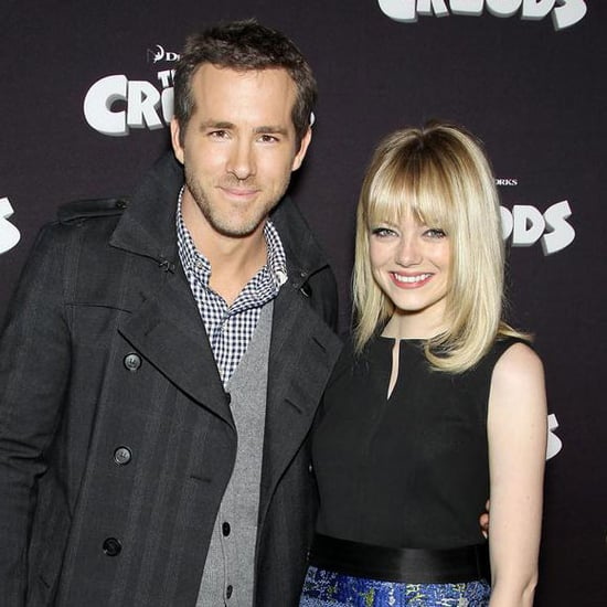 Emma Stone and Ryan Reynolds at DreamWorks Event in NYC