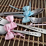 Personalized Cake Fork and Coffee Spoon
